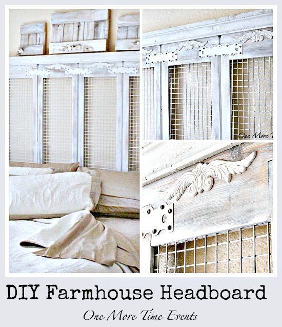 100 Diy Farmhouse Home Decor Ideas: Best 25+ Farmhouse Headboards Ideas On Pinterest