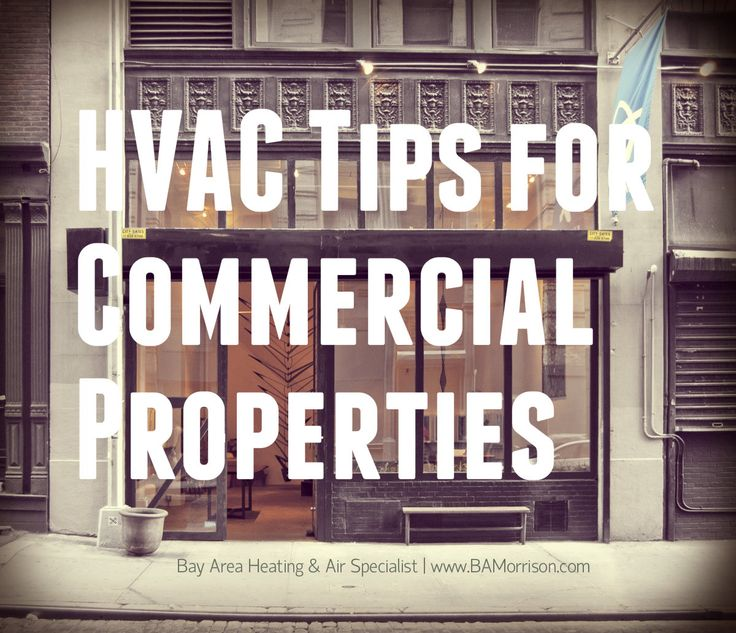 3 Tips for Commercial HVAC Systems  #propertymanagement