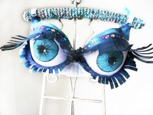 decorated bras for breast cancer awareness - Google Search