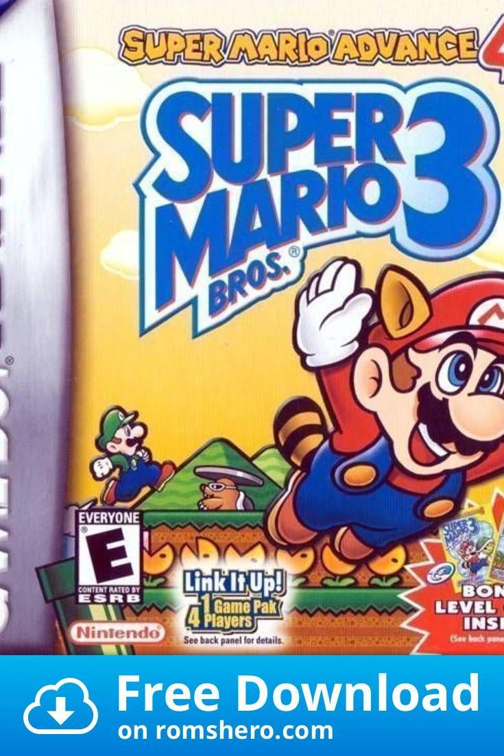 Download Super Mario Advance 4 Super Mario Bros 3 V1 1