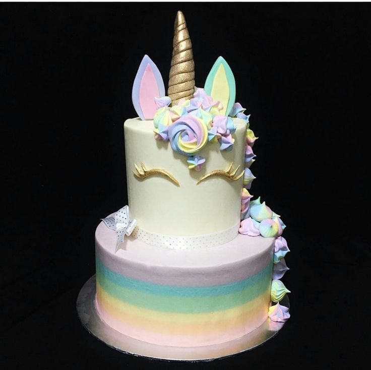 Fondant Rainbow Cake Topper Tutorial