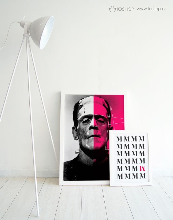 Lámina Frankenstein y lámina Metro www.ioshop.es