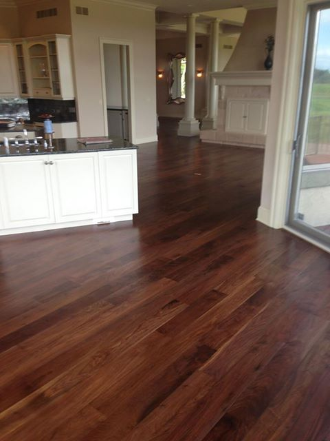 How great would it be to have hardwood floors throughout for Hardwood floors throughout
