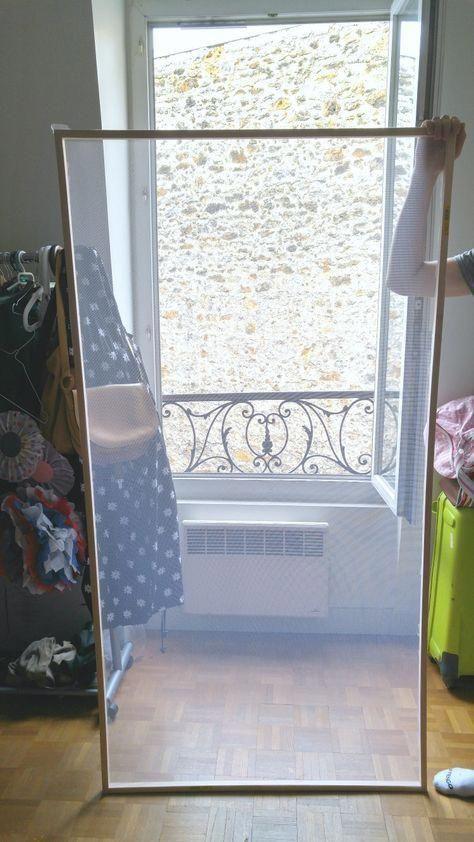 moustiquaire diy lesateliersdelaurene bricolagefacile. Black Bedroom Furniture Sets. Home Design Ideas
