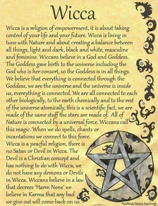 Book of Shadows:  #BOS Wicca page.