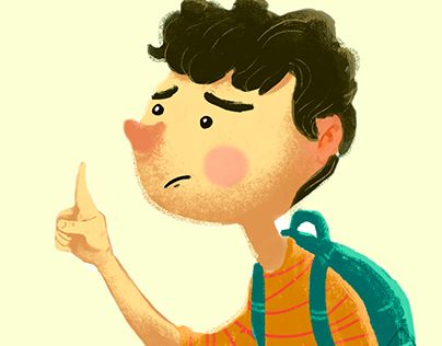 """Check out new work on my @Behance portfolio: """"Kid"""" http://be.net/gallery/53306383/Kid"""