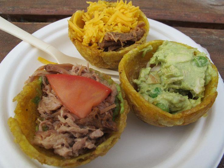 Patacones rellenos | 20 Deliciosos platillos de Latinoamérica que tienes que probar antes de morir