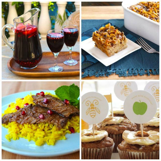 A delicious collection of tried and true Rosh Hashanah kosher holiday recipes with reviews and step-by-step photo tutorials for a sweet new year!