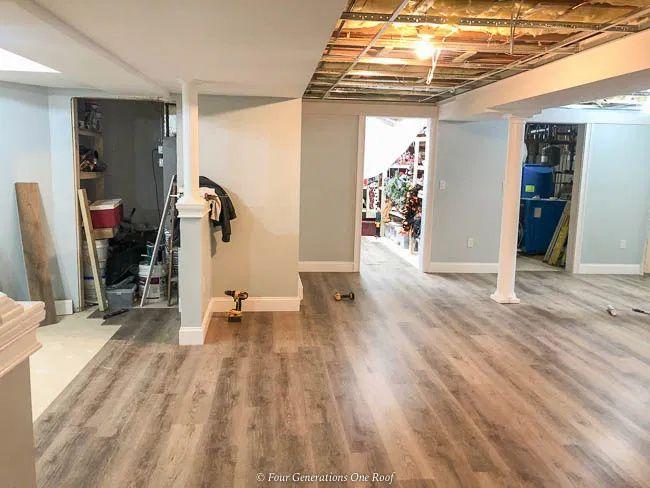 Rigid Core Vinyl Plank Flooring, Vinyl Plank Flooring Basement Installation
