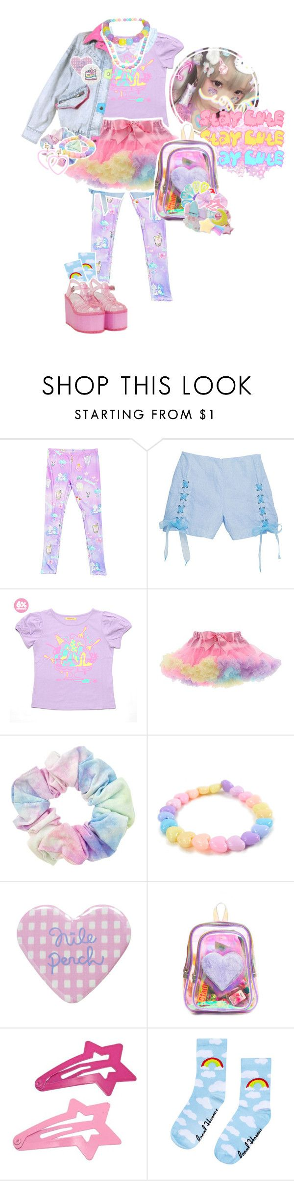 """ pop kei kid "" by gonzaloqroz ❤ liked on Polyvore featuring MHM, Kaiya Eve, UNIF, F, women's clothing, women's fashion, women, female, woman and misses"