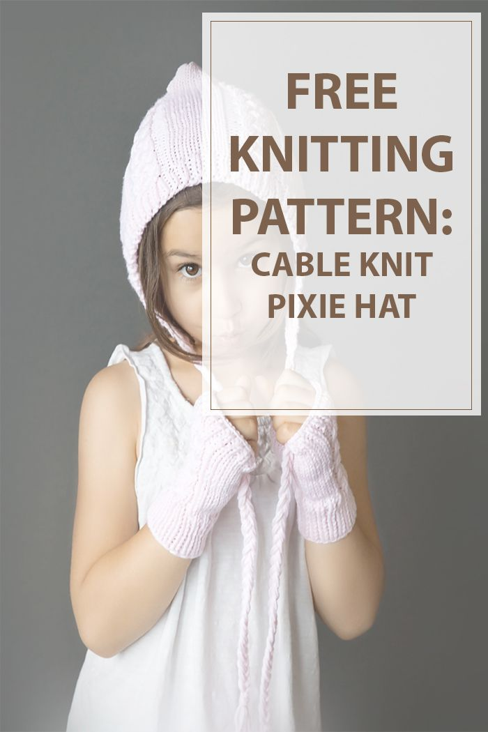 Today we will post something different than the other knitting patterns. This kid knitting patterns is really special and full of cuteness. Your daughter will love it , and it will keep her warm when she is playing outside the house. For this hat you will need some straight needles this will make it a perfect project for anyone who wants to learn how to knit cables. | www.housewiveshobbies.com |