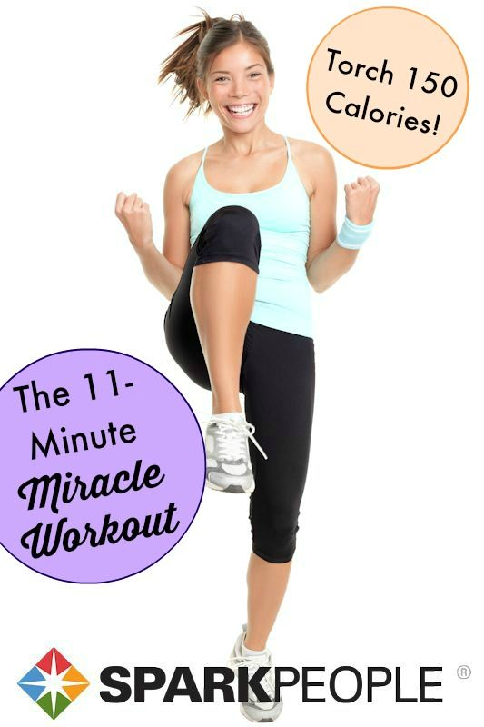 This is my go-to workout for when I'm short on time! Love it! | via @SparkPeople #workout #fitness #exercise #HIIT