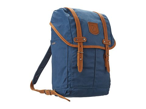 Fjällräven Rucksack No. 21 Small Ochre.  In uncle blue it is on sale with free shipping. (ps mom and dad this is and other backpacks are directed towards Ian)