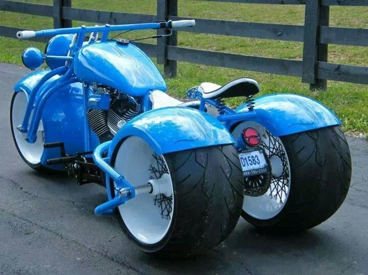 Not a huge fan of trikes but this is pretty sweet!