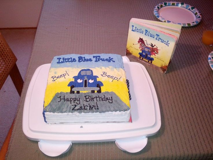 80 best Little blue truck birthday images on Pinterest Little