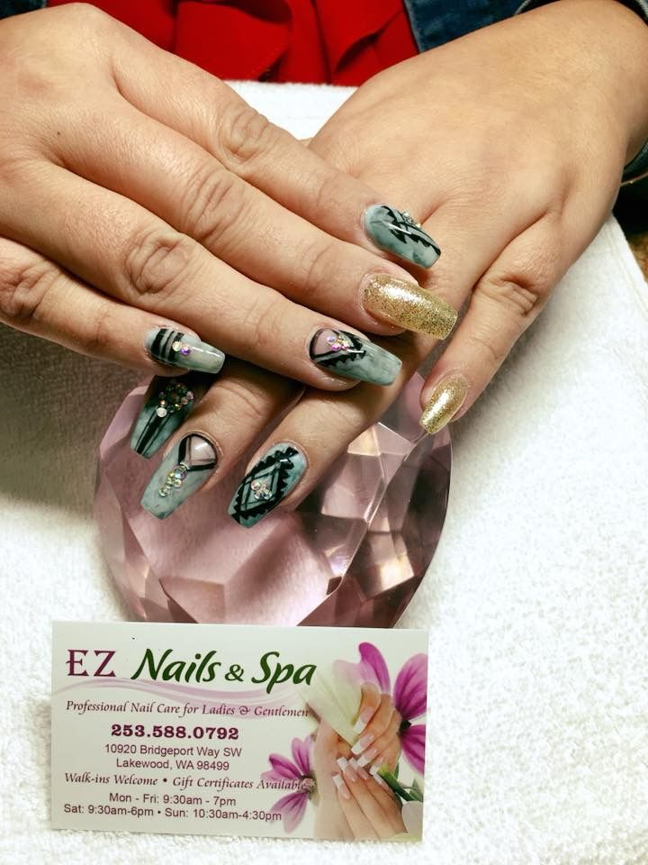 Tribalnails Marbled Turquoise Eznail Domdemnailz Tribal Nails Rings For Men Class Ring
