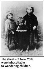 Orphan trains in United States in 1850s to 1929 relocated 100,000 orphans....