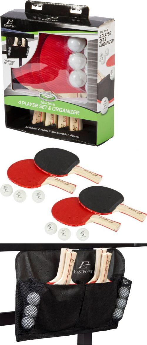 Sets 158955: Ping Pong Paddles 4 Player Table Tennis Set Racket Ball With Organizer Sports -> BUY IT NOW ONLY: $32.24 on eBay!