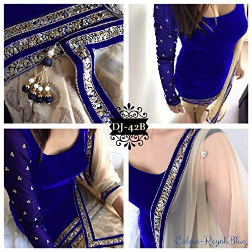 Khazanakart Exclusive Velvet Fabric And Santoon Bottom Fa…