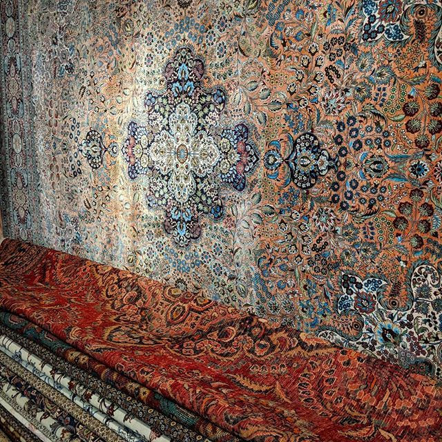Stacks Of Silk Persian Rugs We Are
