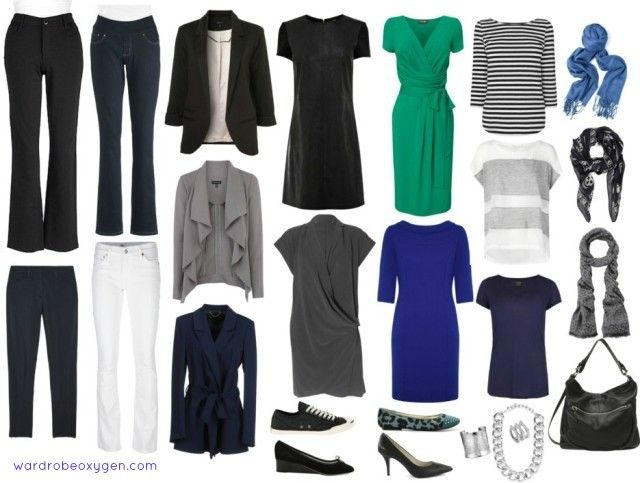 I really like most of these pieces. I would want the green dress in a different color and could do without the striped tee and sweater, but I really like the rest of the items pictured.