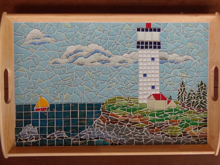 LIGHTHOUSE Serving Tray        for Jude