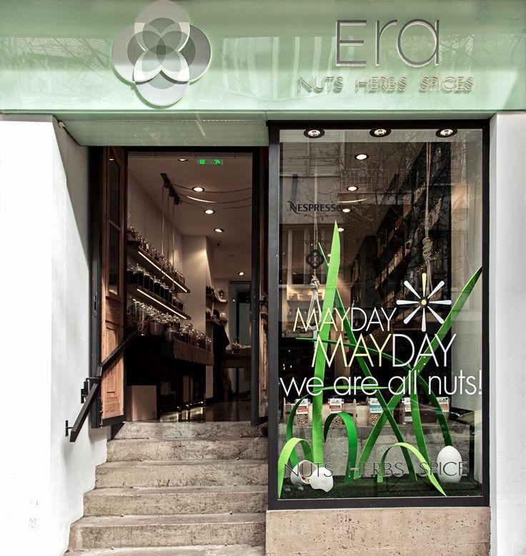 Και το κατάστημά μας στο Κολωνάκι είναι έτοιμο να υποδεχτεί το Μάϊο! MAYDAY MAYDAY, we are all nuts!  Thank you @demouk ! #EraLovers