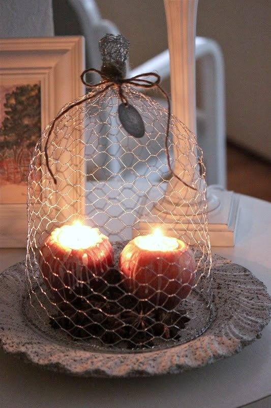I think I can recreate this using chicken wire.