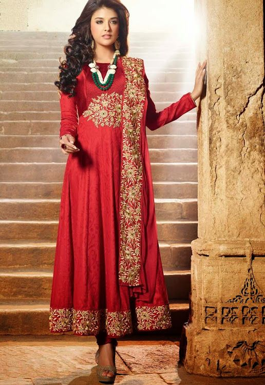 Anarkali Suits Vedik Suit - Vedik91 - Shopping on Junction