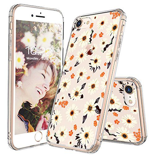 iPhone 8 Case, iPhone 7 Case, MOSNOVO Girls Daisy Floral … www.amazon.com/…