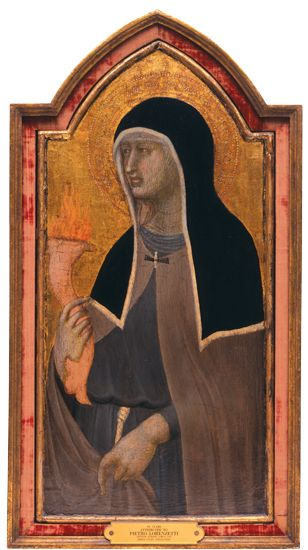 Georgia Museum of Art : Kress Foundation : From the Collection : St. Clare