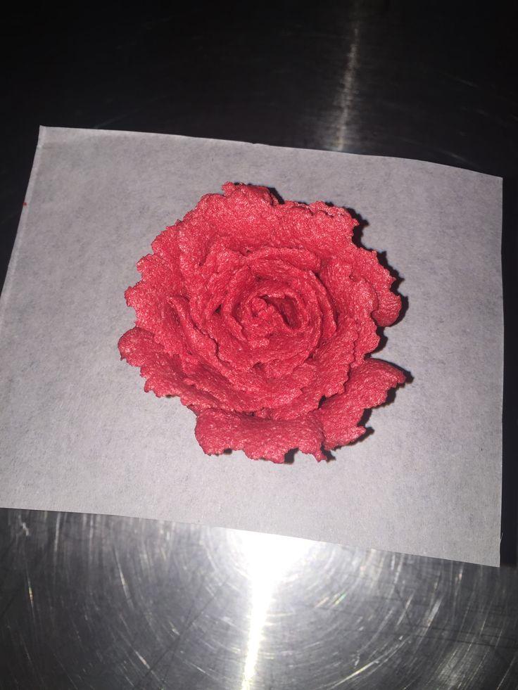 Buttercream flower!