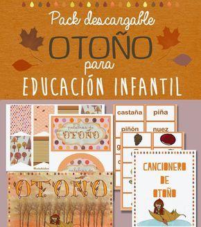 Este fin de semana volvemos con la sección de Descargables y nos trae el Pack Otoño II para Educación Infantil cargado de carteles y m...