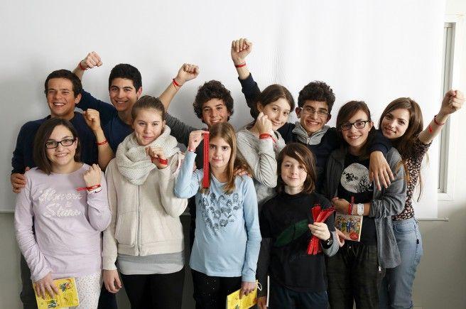 I veri Braccialetti Rossi: i giovani protagonisti della fiction visitano i ragazzi ricoverati in ospedale