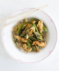 Quick, easy and super tasty Honey Soy Chicken with Basil stir-fry. Ready to eat…
