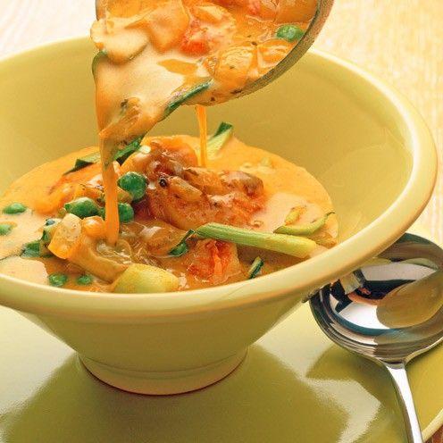 Spicy Prawns with Pak Choi - Good Housekeeping