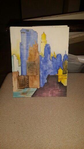 BigCity watercolour work