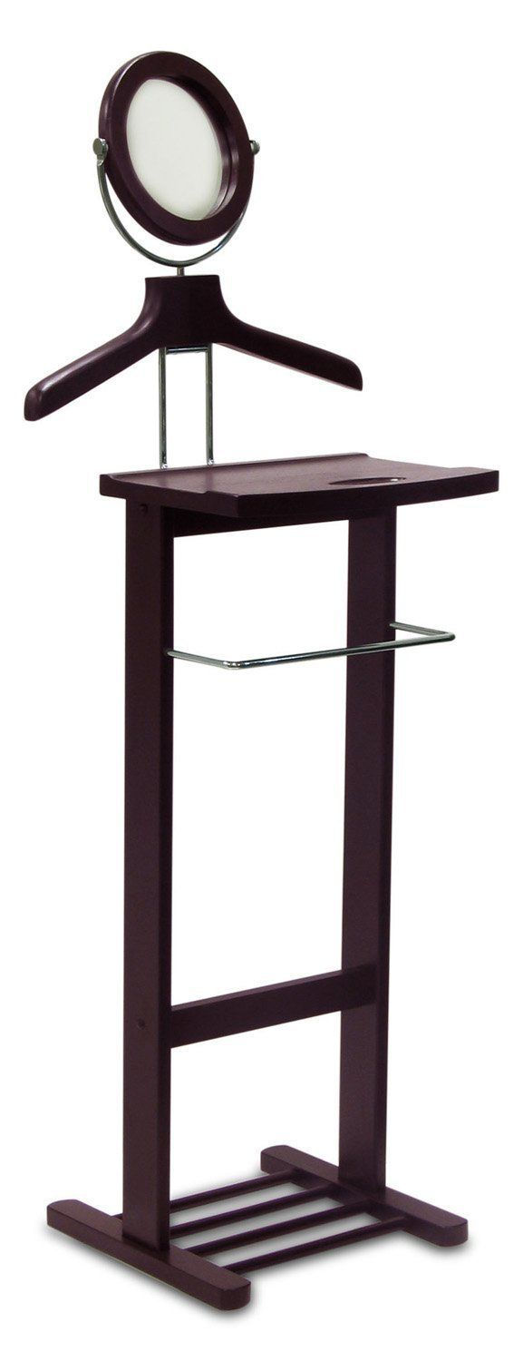 Clothes Valet Winsome Wood Valet Stand Espresso Suit