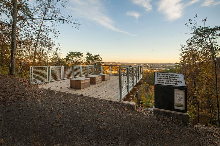 Stringer's Ridge Overlook | elemi architects, llc and Trust for Public Land