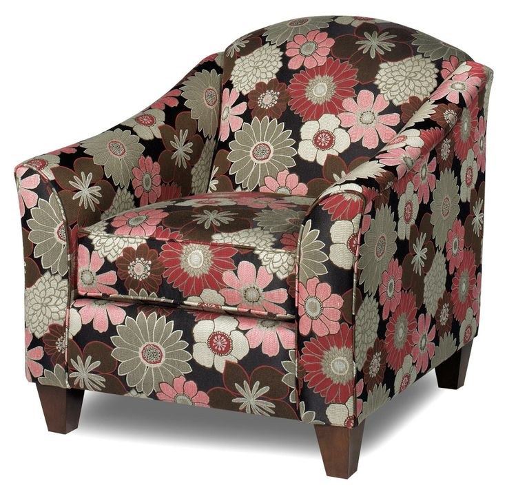 Accent Chairs Contemporary Upholstered Chair With Flair Tapered Arms By  Craftmaster   AHFA   Upholstered Chair Dealer Locator