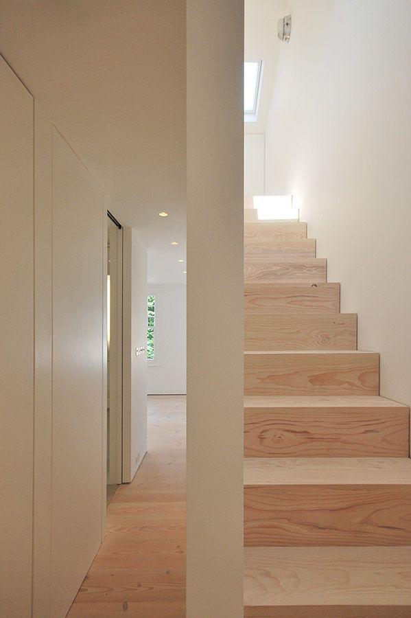 Dinesen Floor, Luxury Minimalist Interior , House Refurbishment , Stair , Queens Park , London , LBMVarchitects