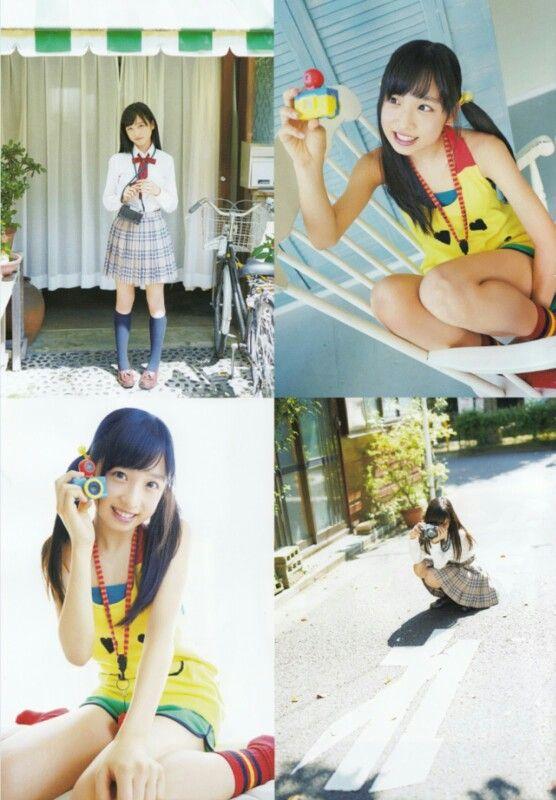 "AKB48 Yui Oguri ""Torarechau Torarechau!"" on UTB Magazine"