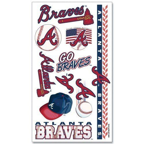 MLB Atlanta Braves Tattoos – 460 Sports