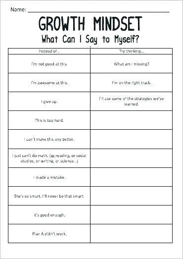 free printable self esteem worksheets download social work ...