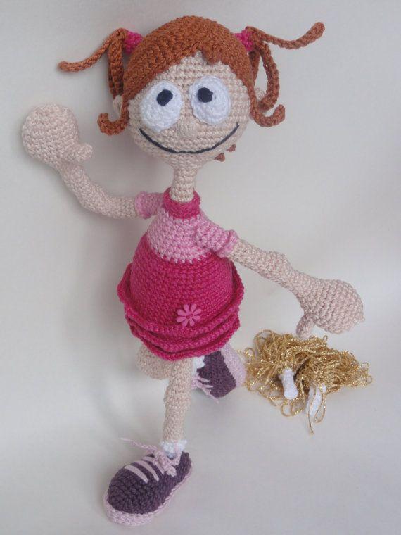 Pompom Polly Amigurumi Crochet Pattern by IlDikko on Etsy, $6.20