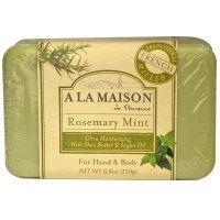 A La Maison de Provence, Мыло для рук и тела, розмарин и мята, 250 г (8,8 унции)