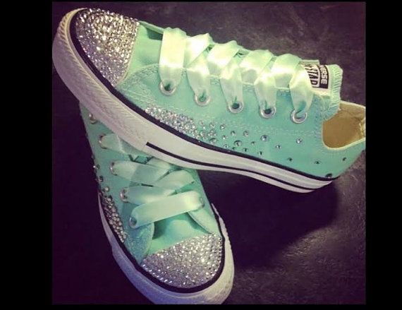 Hey, I found this really awesome Etsy listing at https://www.etsy.com/listing/222857868/converse-chuck-taylor-swarovski-element