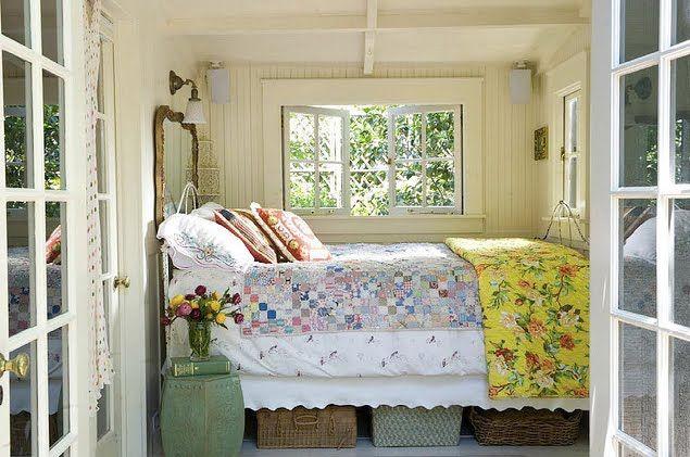 Twins Garden Style Blog - Inspiration for Design and Fabrics: Im Gartenhaus