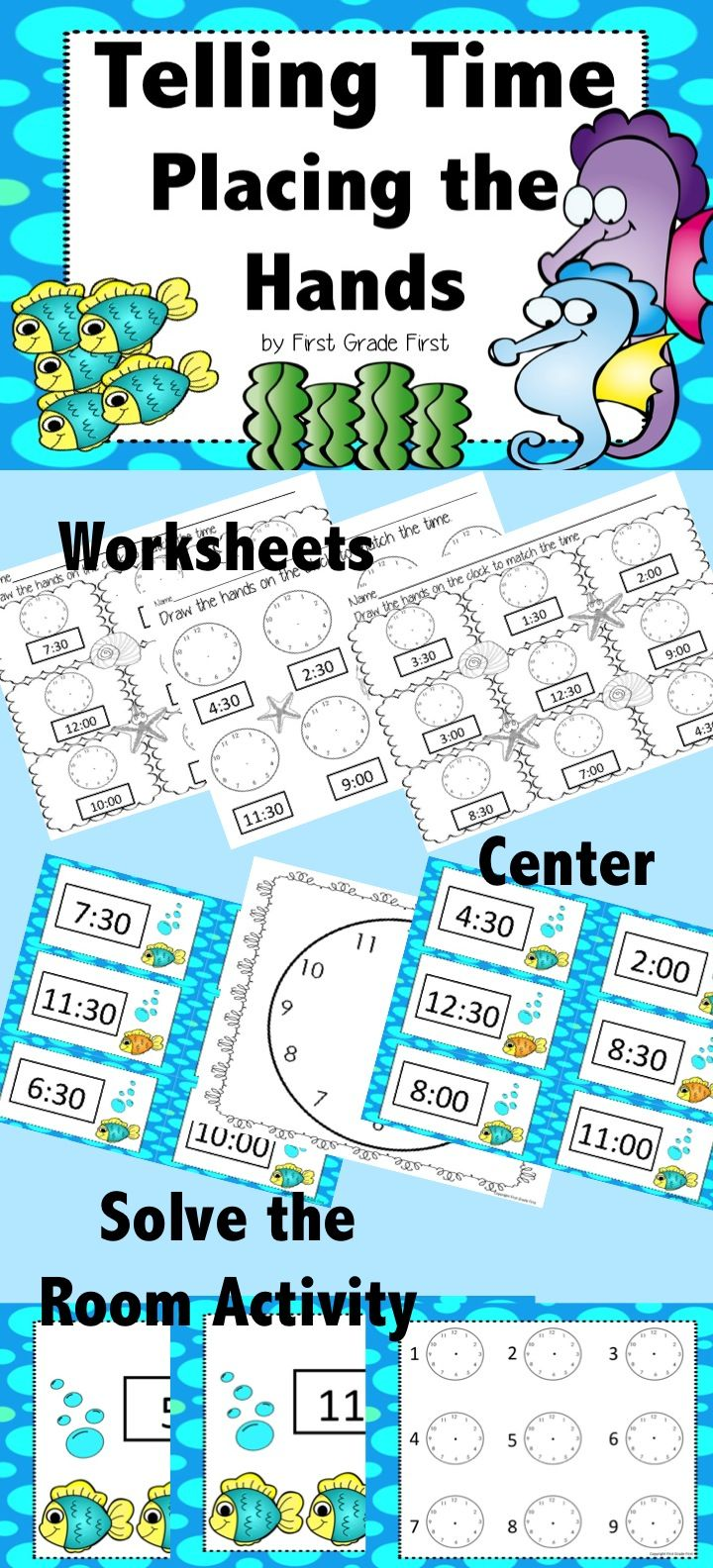 15 best matem images on Pinterest | Telling time activities, English ...