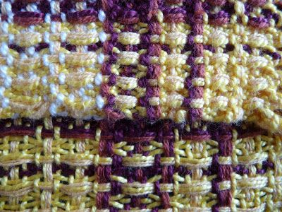 """I love the texture of waffle weave, so when I saw """"Waffle weave on a rigid-heddle? Yes, you can!"""" by Kati Reeder Meek (in """" 4 Free Table R..."""